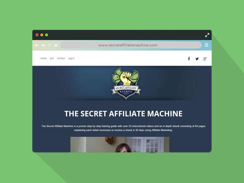 Secret Affiliate Machine
